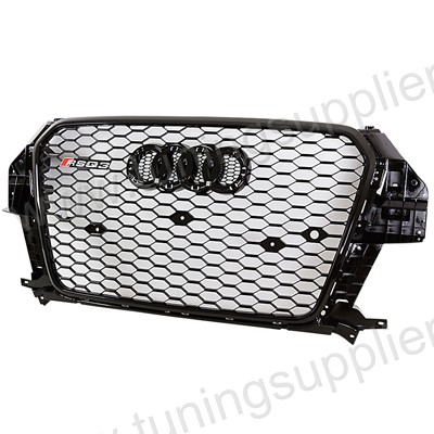 13-15 AUDI Q3 RSQ3 Style Honeycomb Mesh Grille