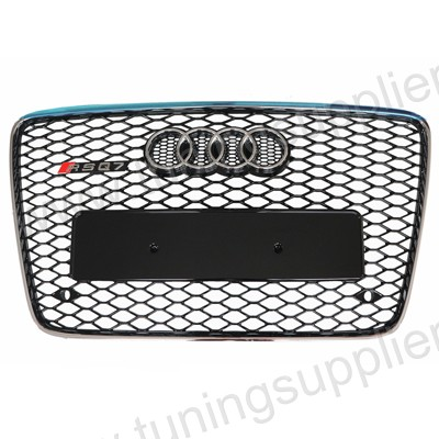 2012-2014  AUDI Q7 RSQ7 Style Honeycomb Mesh Grille